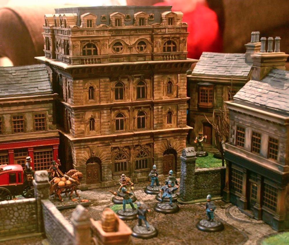 Tabletop Miniatures Game Terrain Scenery | Wallseat co