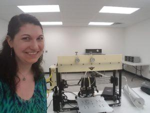 I can't resist a selfie with a good 3D printer