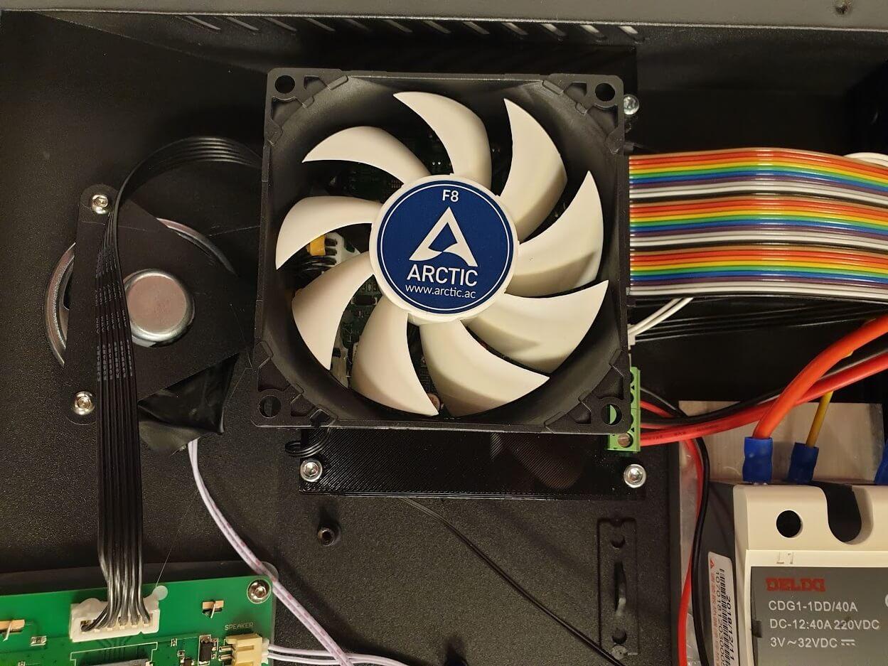 80 mm adapter 1 | CR-10s Pro upgrade - 80mm motherboard fan mount