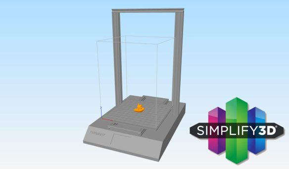 Creality CR-10s Pro Custom Build Plate for Simplify 3D - 3D