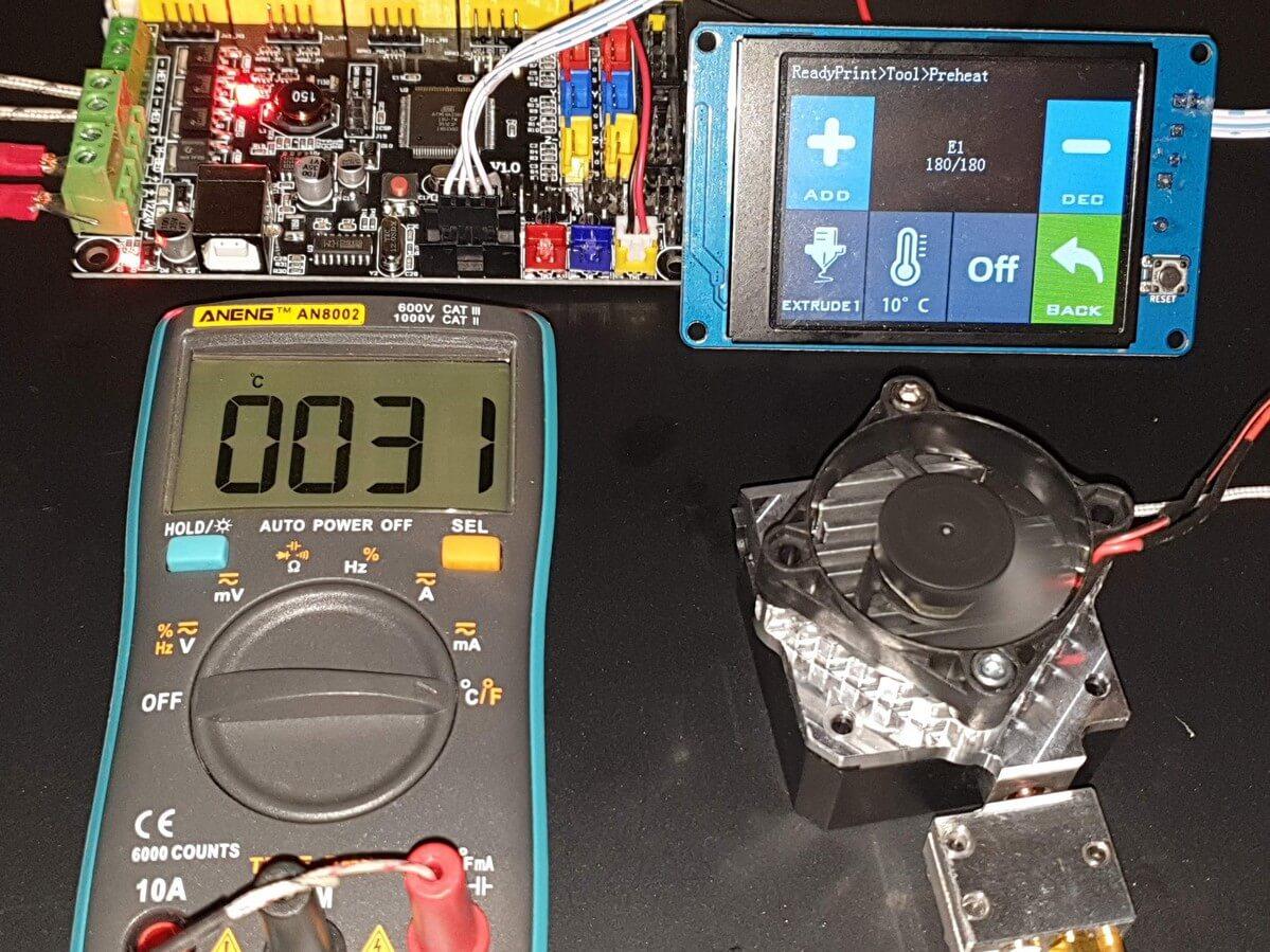 180C Bi-Metal Titan Aero 10 minutes 31C