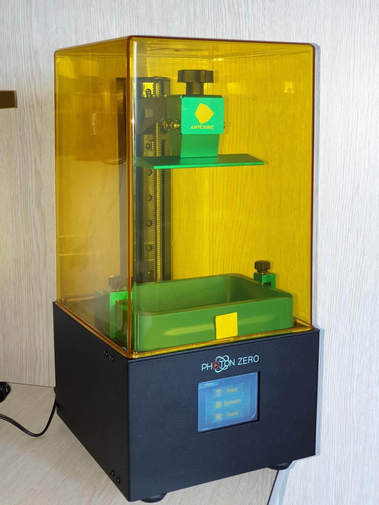 Anycubic Photon Zero Budget Resin Printer 2   Anycubic Photon Zero Review - Budget Resin Printer