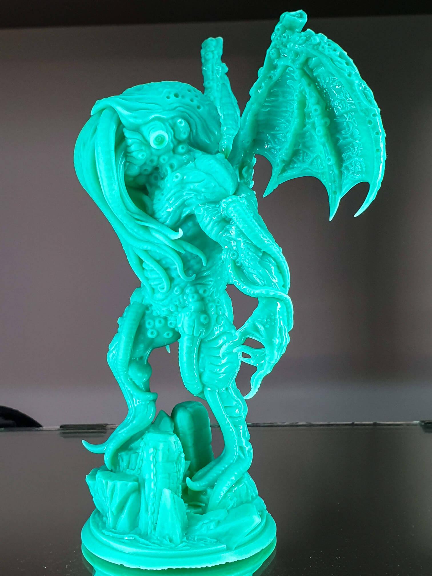 Sonic Mini print - Cthulhu (4)