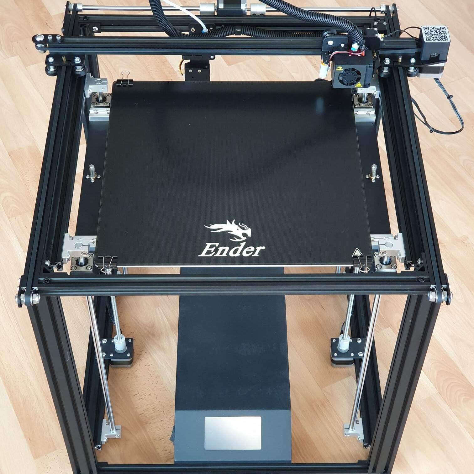 Creality Ender 5 review Assembled 2 | Creality Ender 5 Plus Review - Print Big!