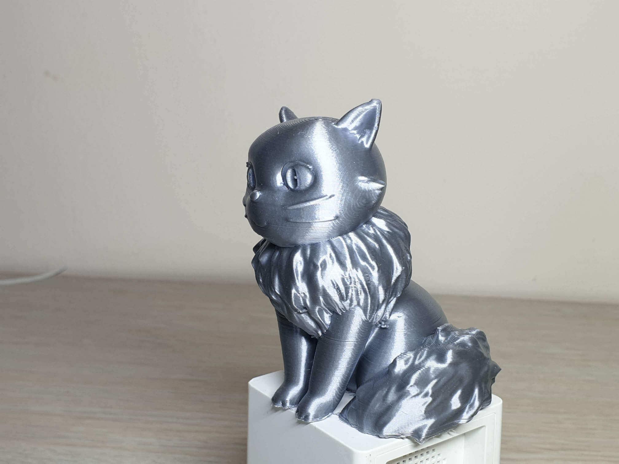 Lily printed on Longer Cube2 Mini 5 | Cube2 Mini Review - 3D Printer for Kids