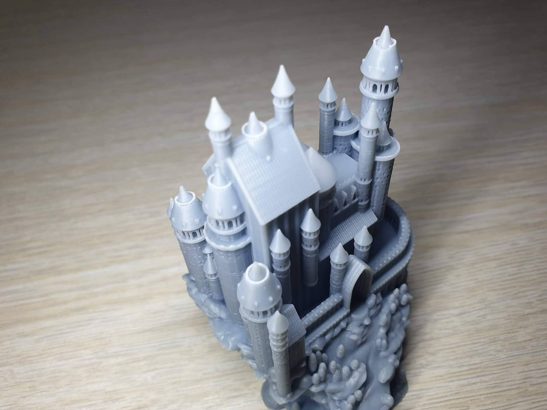 Creality-LD-002R-Review-Medieval-castle-1