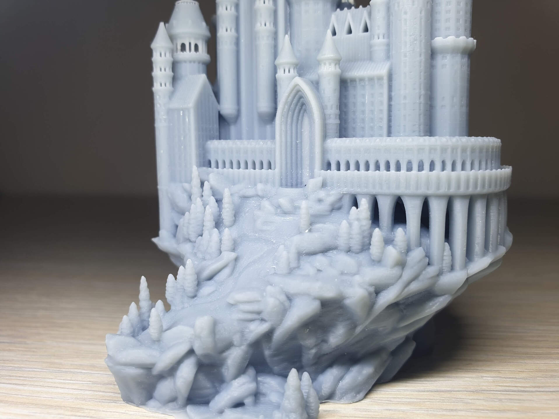 Creality-LD-002R-Review-Medieval-castle-5