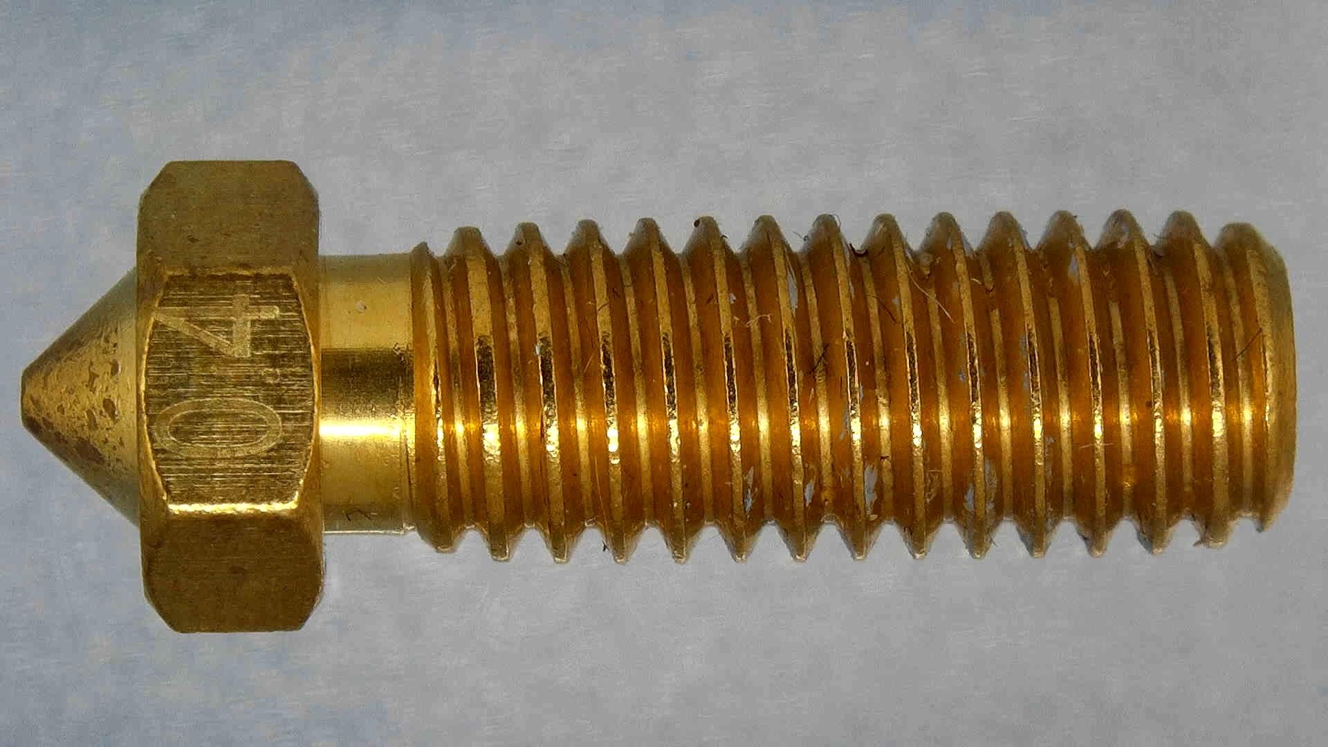 Stock-Artillery-Volcano-Nozzle-1-3D Printer Nozzle Comparison