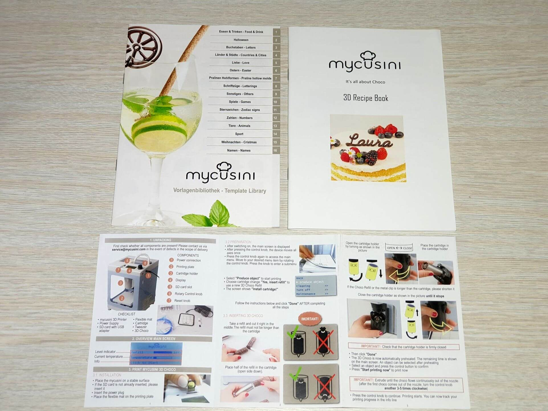 MyCusini Recipe Books