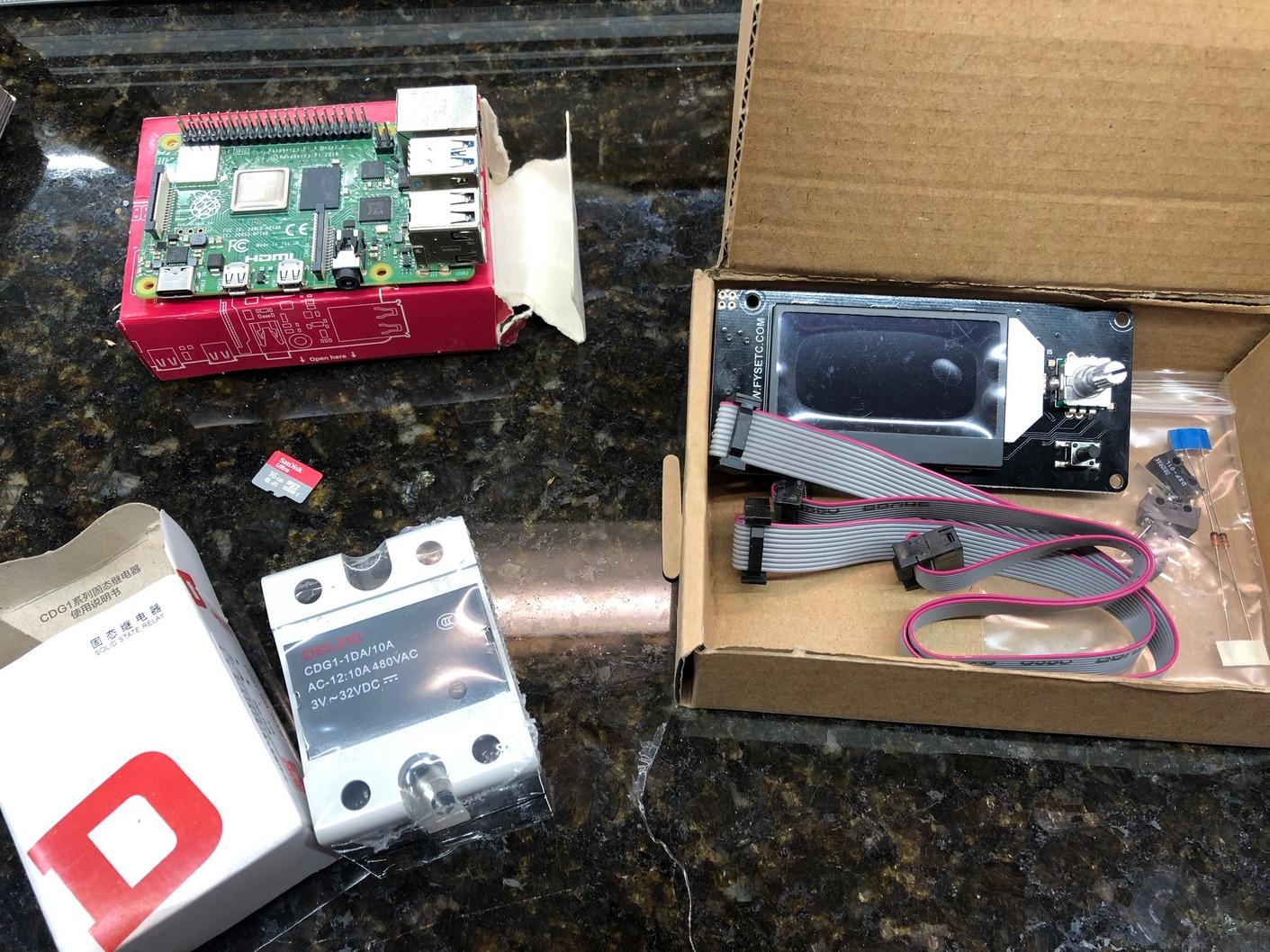 Electronics-from-Funssor-Voron-Kit-2