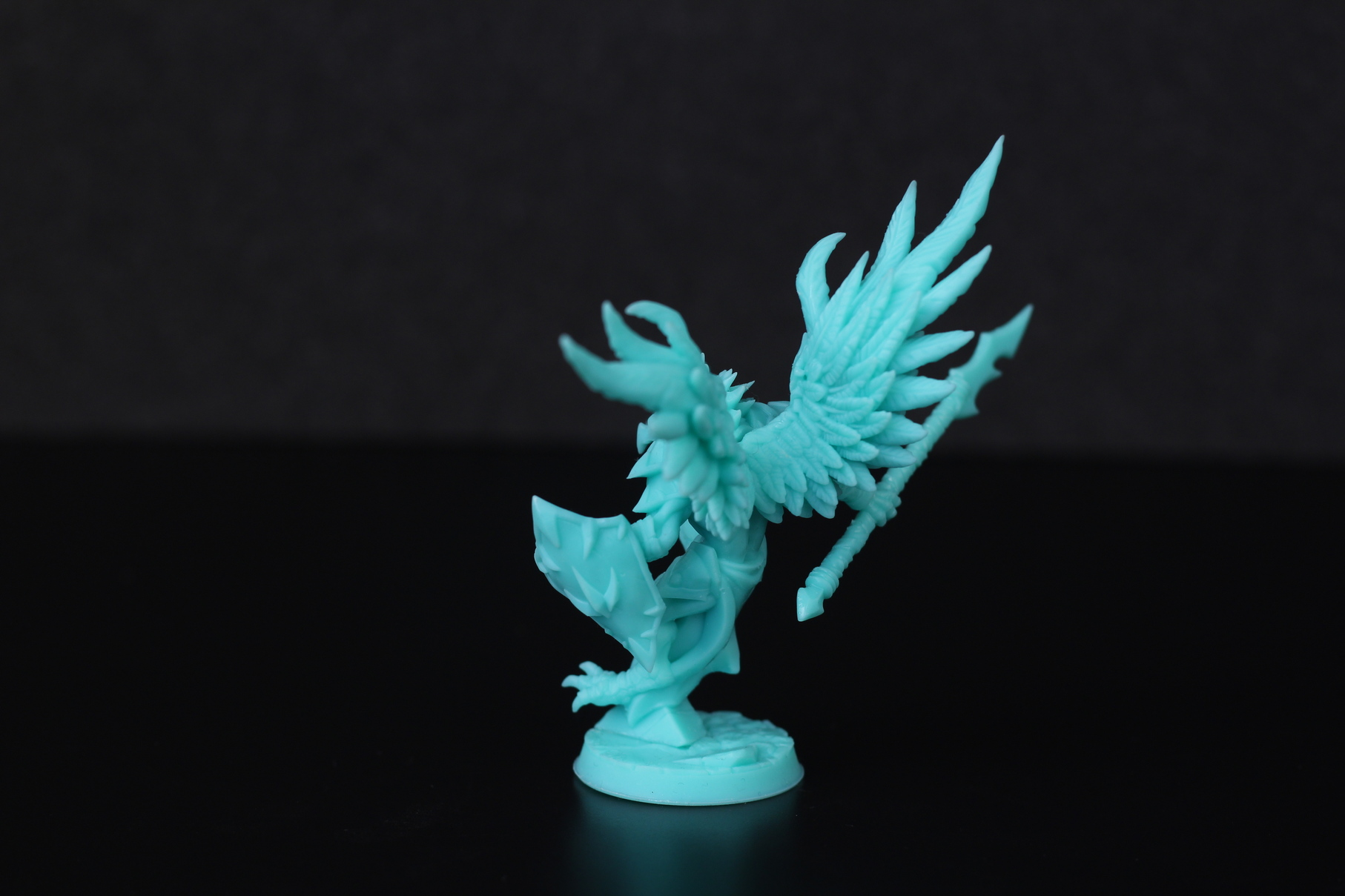 High Gryphkin printed on Anycubic Photon Mono X 4 | Anycubic Photon Mono X Review - Large Format Resin 3D Printer