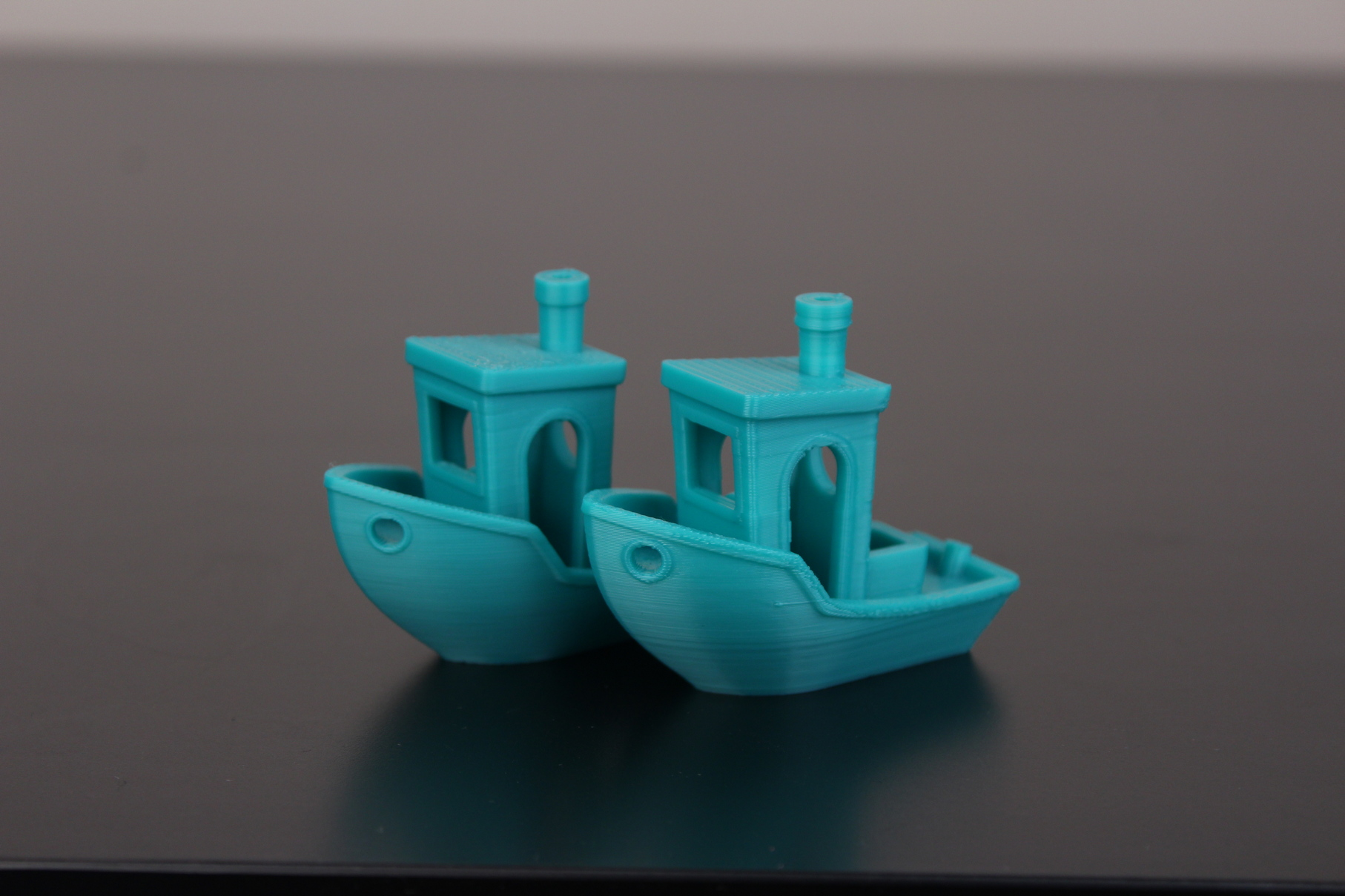 3D Benchy Before and After 3 | Trianglelab Spiral Tower Hotend Review