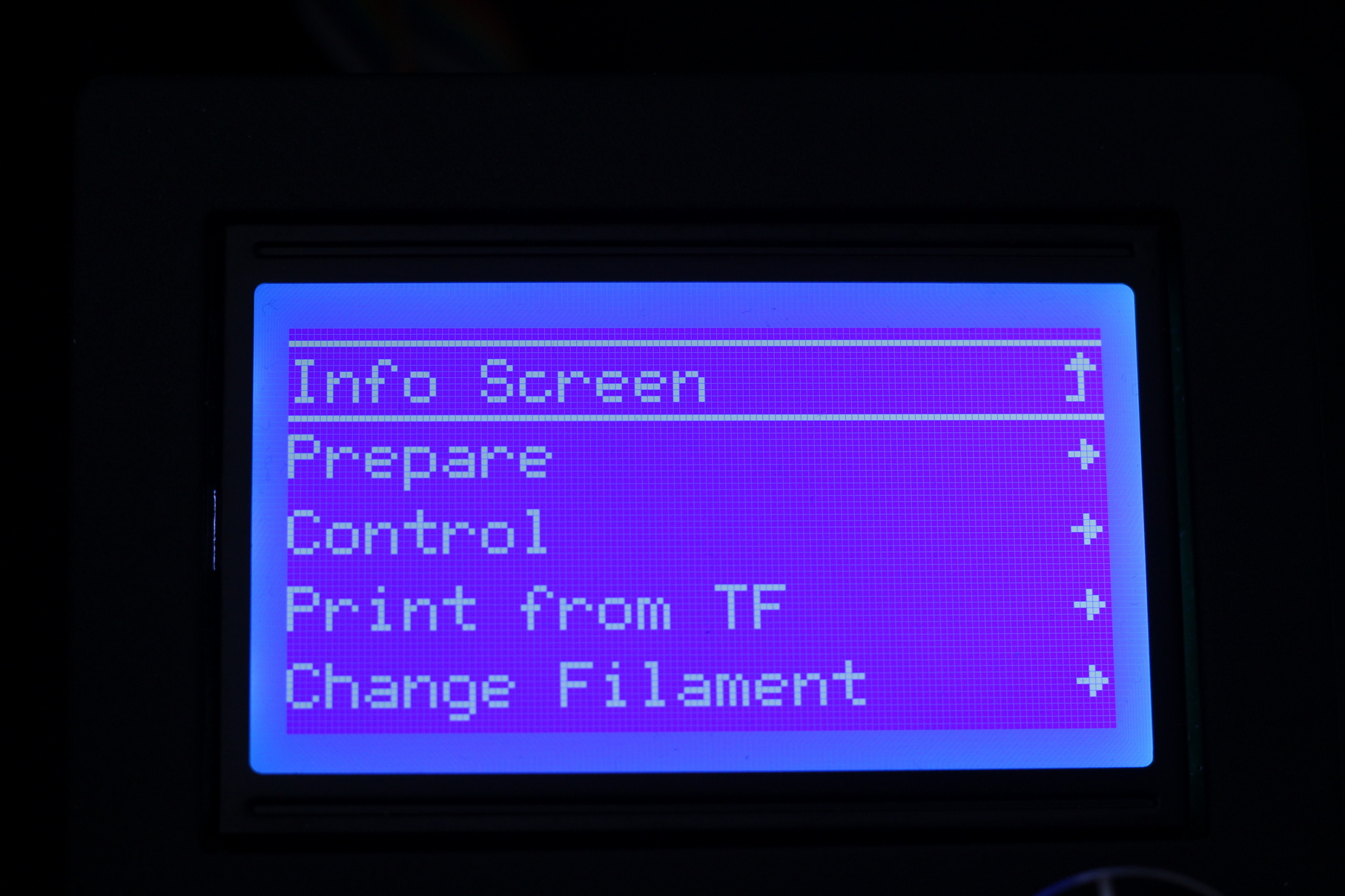 Ender 3 Max Screen Interface 6   Creality Ender 3 Max Review: Bigger equals Better?