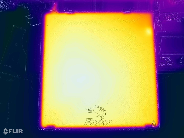 Ender-3-Max-heatbed-temperature-uniformity