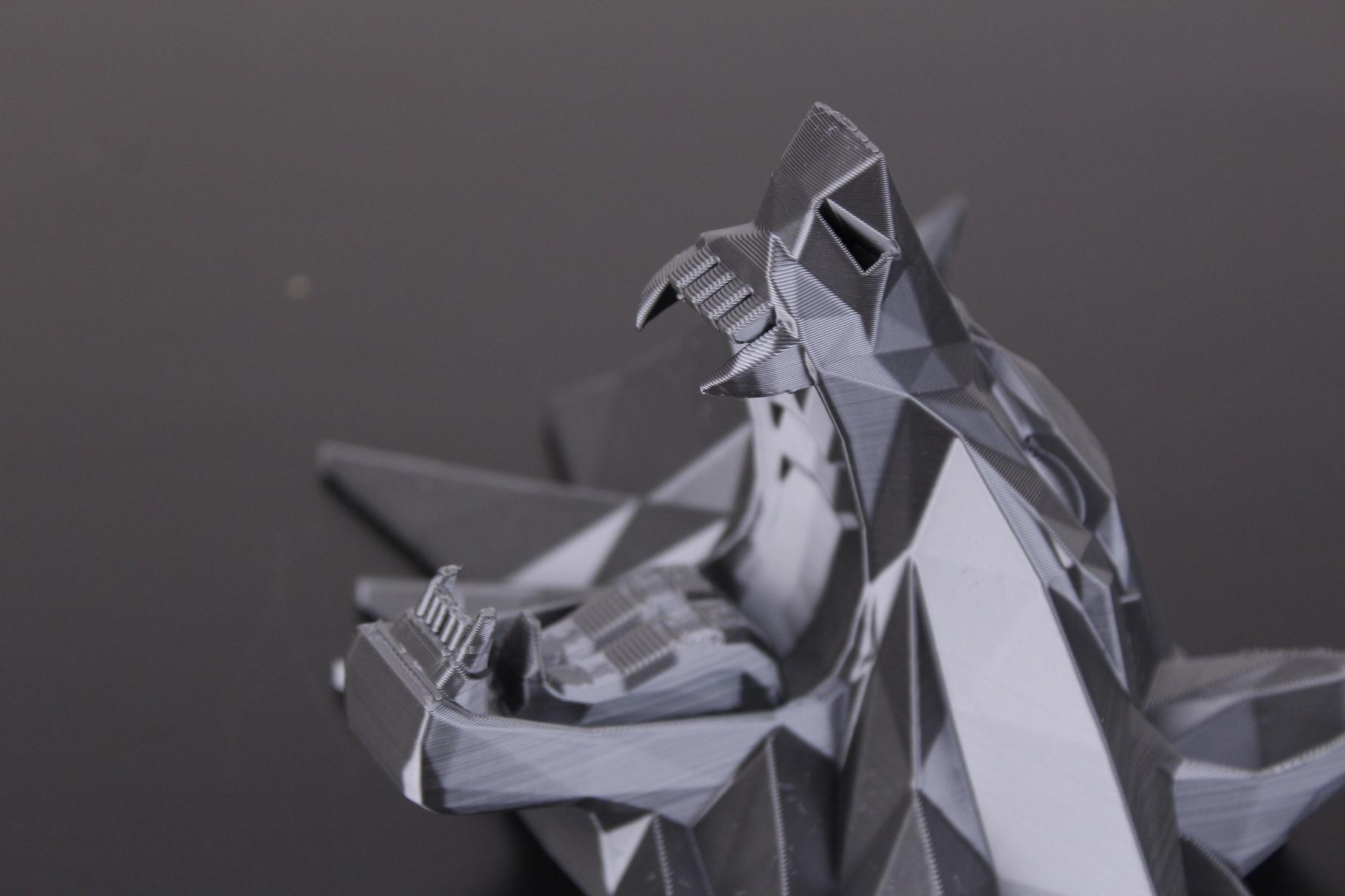 Witcher Wolf Medallion 2   Trianglelab Spiral Tower Hotend Review