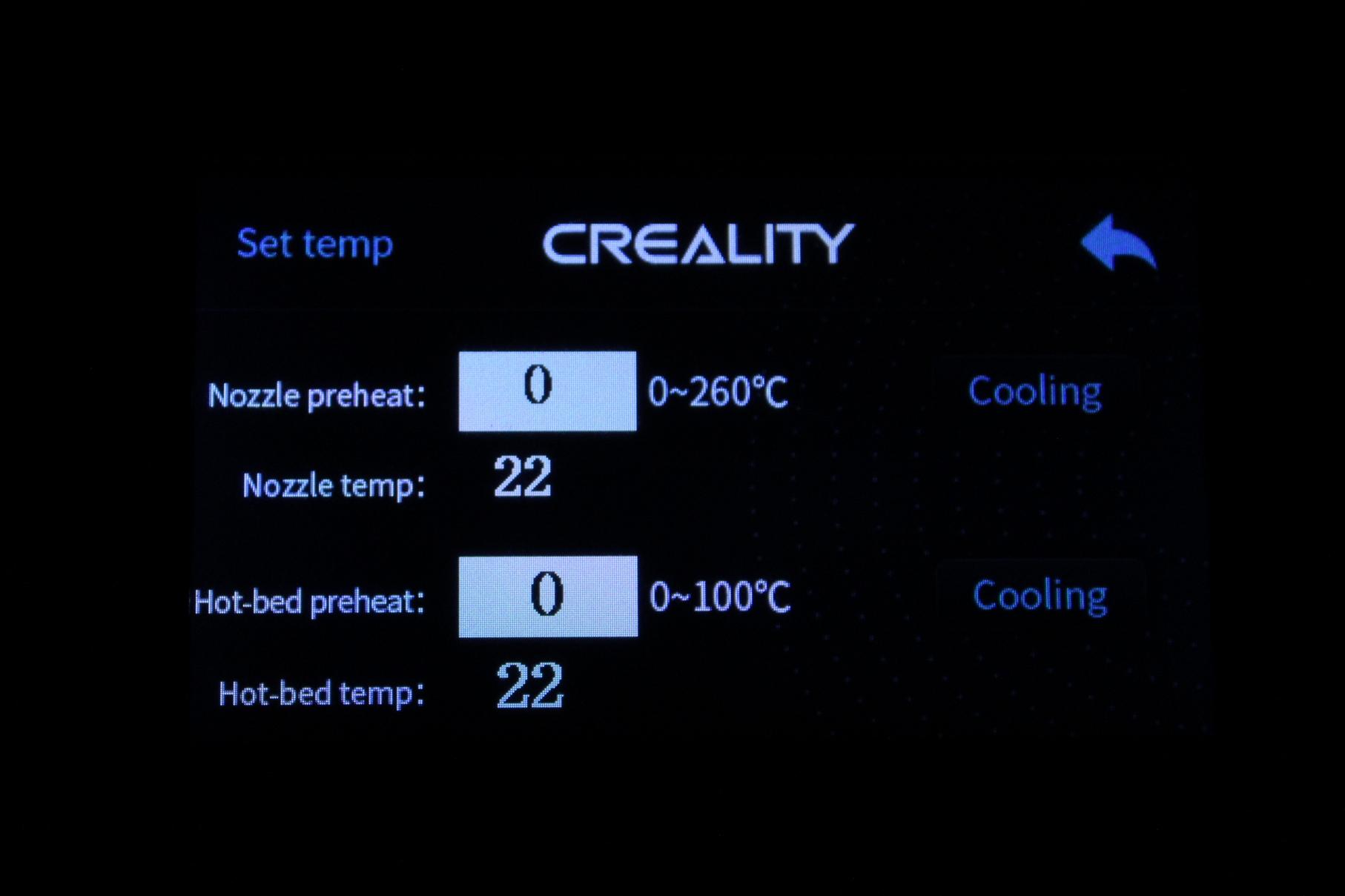 Creality-Sermoon-D1-TFT-Screen-Interface-7