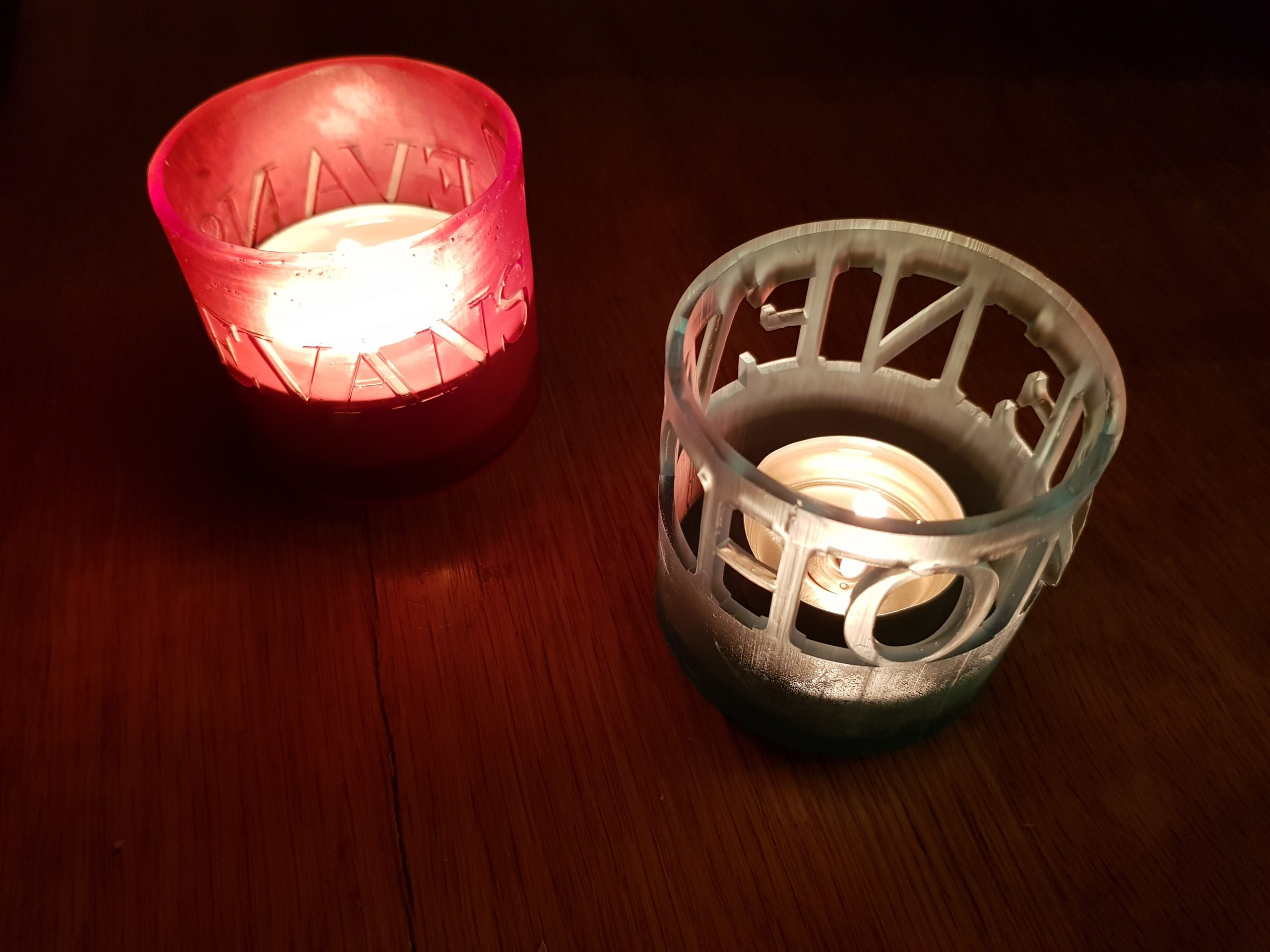 Personalised Candle Holders