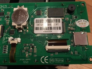 LCD Controller board