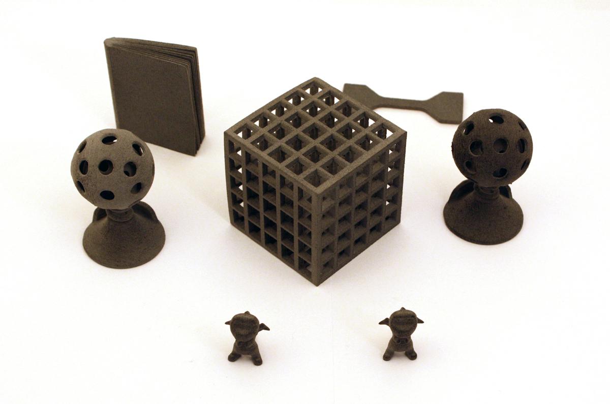 sinterit lisa sls 3D printer 3D prints