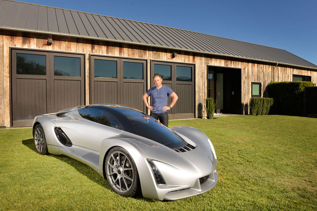 Blade 3D printed supercar from Divergent Microfactories