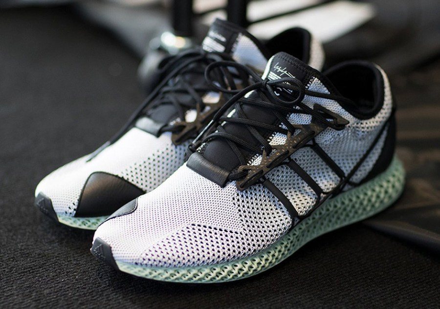 watch 5c554 284af Y-3 futurecraft 4D carbon 3D printed sneakers for Spring Summer 2018.