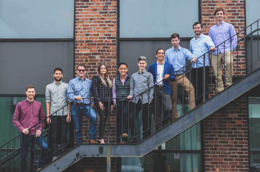 Group photo of the Fortify team in Boston. Photo via Fortify
