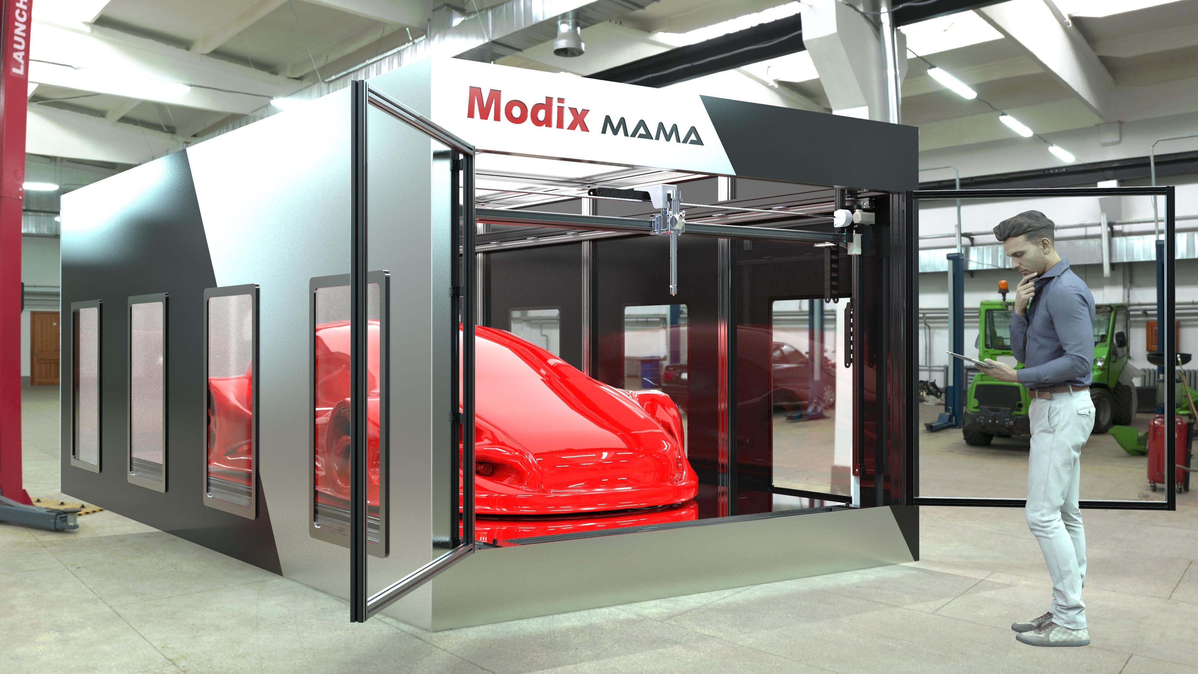 Modix Launches Extra Large Mama 3d Printer Capable Of