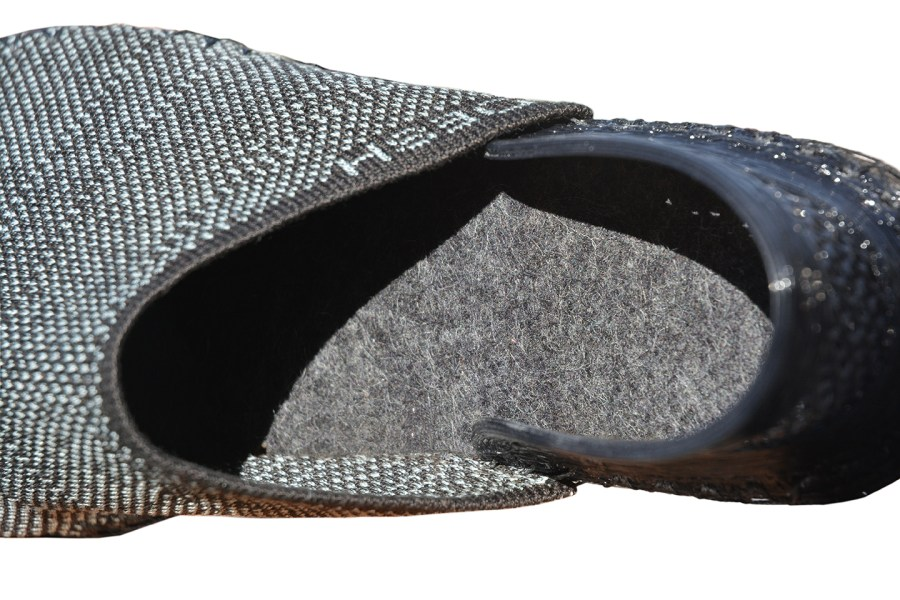 OESH's 3D printed Salon shoes. Photo via OESH.