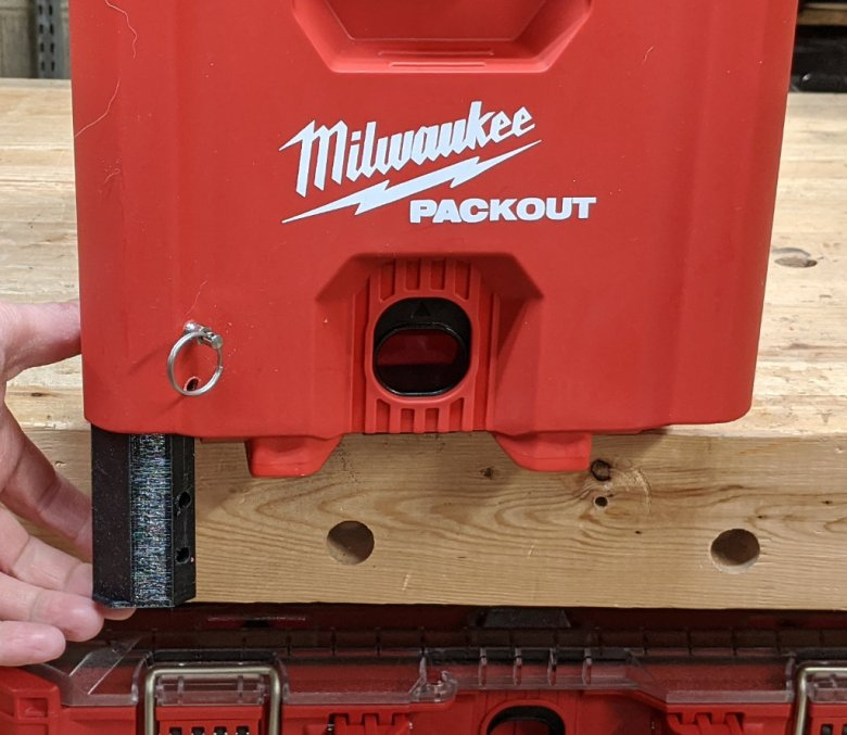 Stash Box for the Milwaukee Packout Compact Toolbox