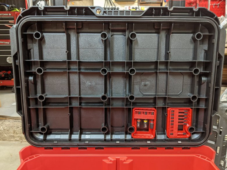 Bit Trays for Milwaukee Packout Toolbox Lower Right