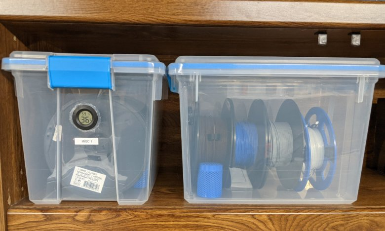Filament Storage Containers Multiple Views