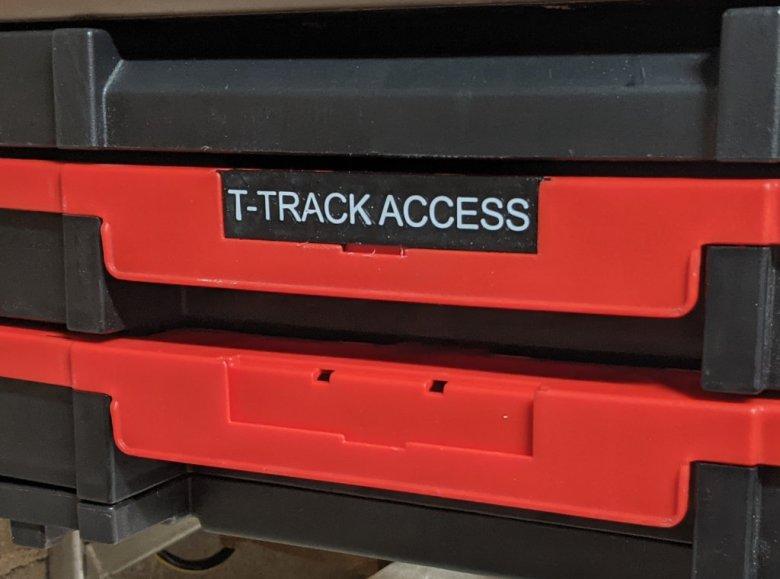 TSTAK Drawer Labels