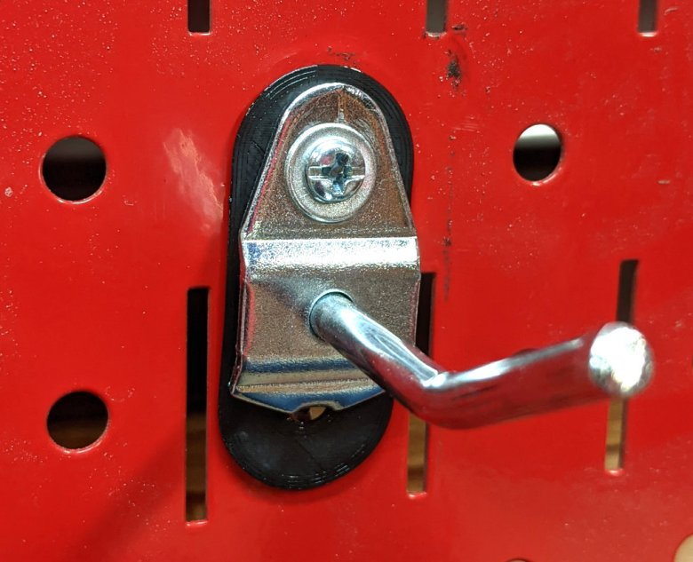 DuraHook Metal Pegboard Anchor with #8 Screw and Washer