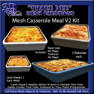 Mesh Casserole Meal V2 Kit AD Pic