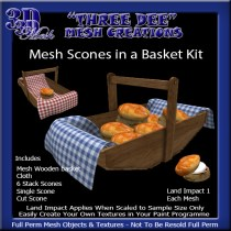 Mesh Scone in a Basket Kitt AD Pic