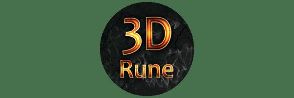 3d Rune