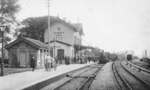 station Franeker 1900