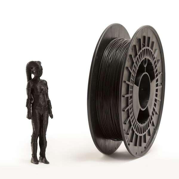 EUMAKERS FLEX filament Black 2.85mm 500g