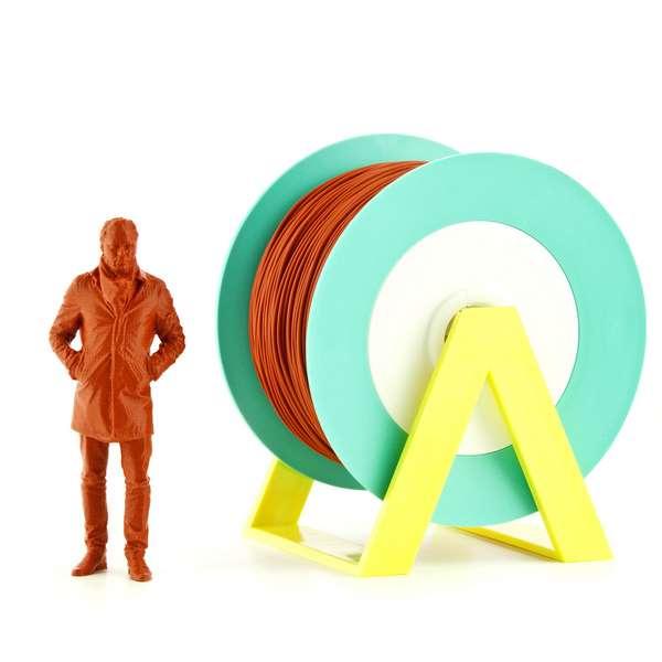EUMAKERS PLA filament Brick Orange 1.75mm 1000g