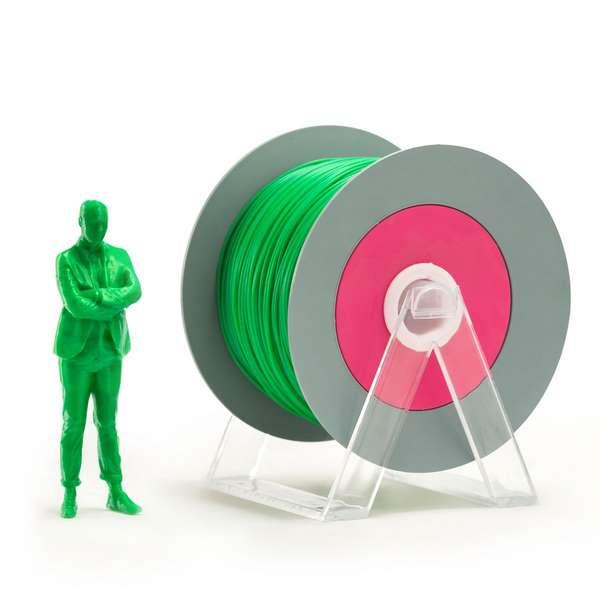 EUMAKERS PLA filament Iridescent Green 1.75mm 1000g