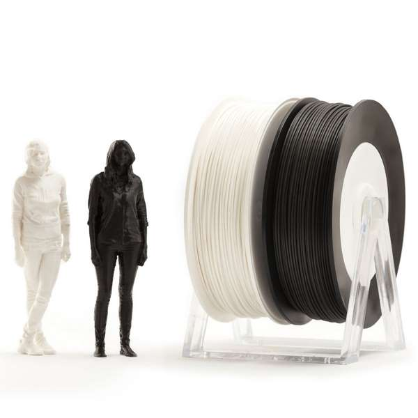 EUMAKERS PLA filament Black White 1.75mm 2 x 500g