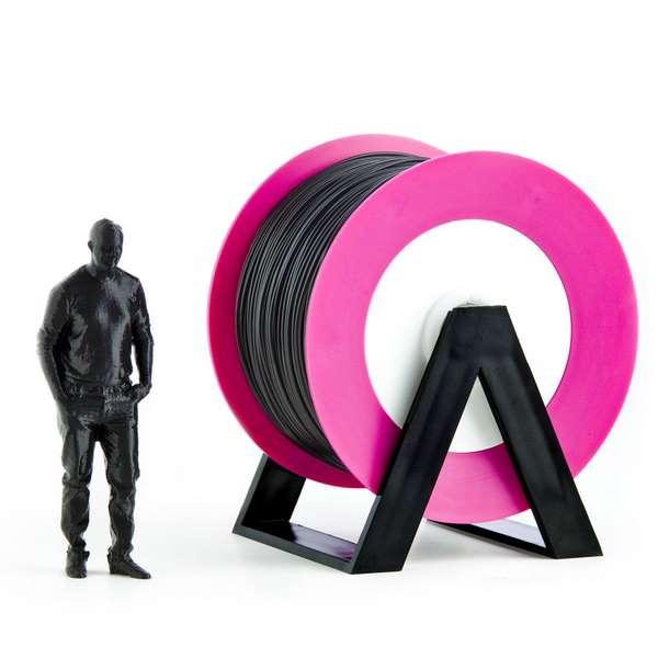 EUMAKERS PLA filament Black 2.85mm 1000g