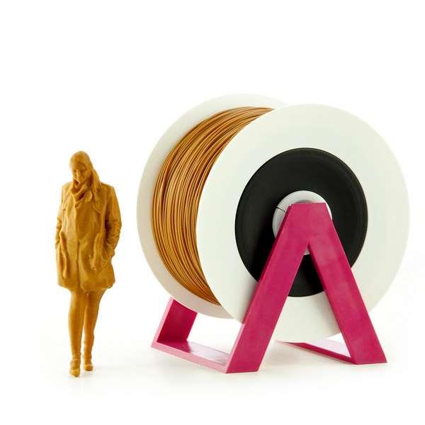 EUMAKERS PLA filament Brown 2.85mm 1000g