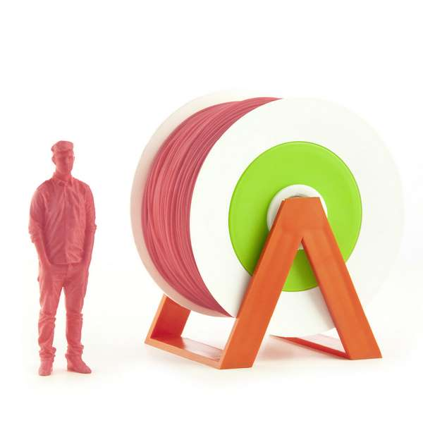 EUMAKERS PLA filament Bubblegum Pink 2.85mm 1000g