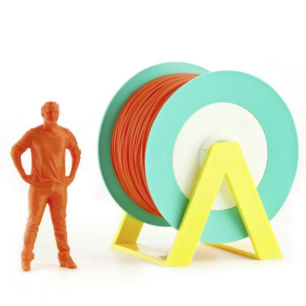 EUMAKERS PLA filament Dark Orange 2.85mm 1000g