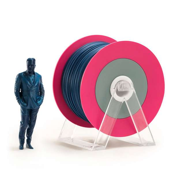 EUMAKERS PLA filament Glossy Blue 2.85mm 1000g