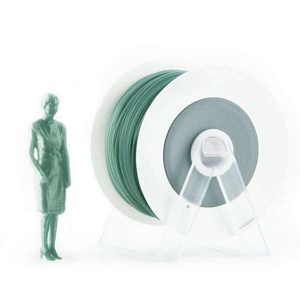 EUMAKERS PLA filament Pearl Green 2.85mm 1000g