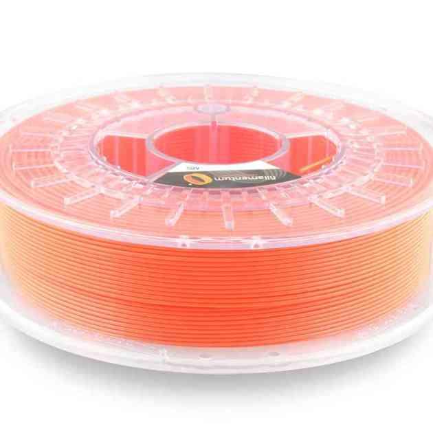 Fillamentum ABS Extrafill Luminous Orange 1.75mm 750g