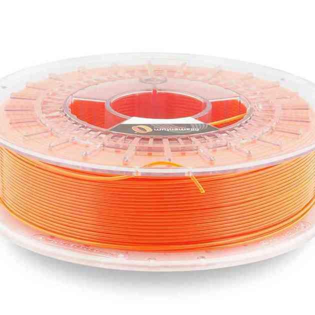 Fillamentum CPE HG100 Neon Orange Transparent 2.85mm 750g