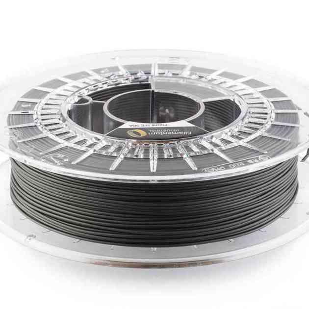 Fillamentum TPE 96A Flexfill Traffic Black 1.75mm 500g